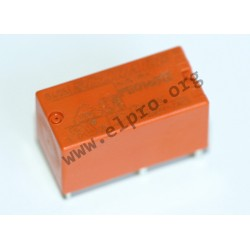 2-1419142-2, TE Connectivity PCB relays, 5A, 1 changeover contact, PE series