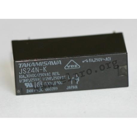 Fujitsu JS-12N-K Printrelais 12 V//DC 10 A 1 Wechsler 1 St.