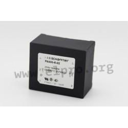 FN405-10-02,Schaffner PCB filters, FN 405 series
