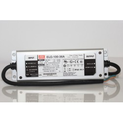 ELG-100-54A, Mean Well LED switching power supplies, 100W, IP65, ELG-100 series