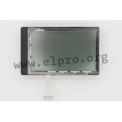 EADIP128J-6N5LWTP, FSTN, 128x64