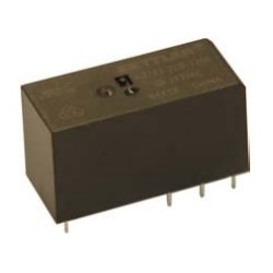 AZ743-2AB-24DEF, Zettler PCB relays, 10A, 2 changeover or 2 normally open contacts, AZ743 series