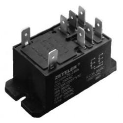 AZ2800-2C-12D, Zettler PCB relays, 40A, 2 changeover or 2 normally open contacts, AZ2800 and AZ2850 series