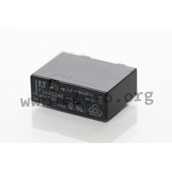 FTR-F3AA005V, Fujitsu PCB relays, 3A, 1 normally open contact, slim type, FTR-F3 series