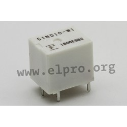 FBR51ND12-W1, Fujitsu high-current relays, 25A, 1 changeover contact, FBR51 series