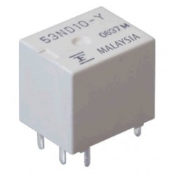 FBR53ND12-Y, Fujitsu high-current relays, 30 to 70A, 1 normally open contact, FBR53 series
