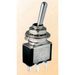 TA102A1, Shin Chin toggle switches, 3A, for Ø6,2mm cutout, TA series