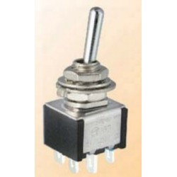 TA202A1, Shin Chin toggle switches, 3A, for Ø6,2mm cutout, TA series