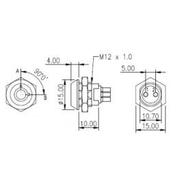 LS120A, Lorlin key switches, unipolar, LS series