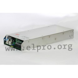 """RSP-1000-15, Mean Well switching power supplies, 1000W, 19"""", RSP-1000 series"""