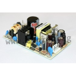 PD-2503, Mean Well switching power supplies, 25W, dual output, open frame (PCB), PD-25 series