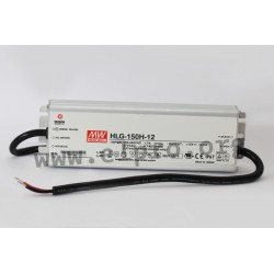 HLG-150H-20, Mean Well LED drivers, 150W, IP67, HLG-150H series