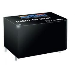 RAC01-05SGB, Recom AC/DC converters, 1W, PCB, RAC01-GB series