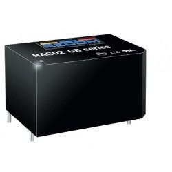 RAC02-12SGB, Recom AC/DC converters, 2W, PCB, RAC02-GB series