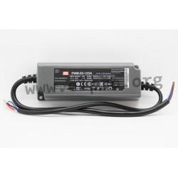 PWM-60-24DA, Mean Well LED switching power supplies, 60W, IP67, PWM output voltage, DALI interface, PWM-60 series
