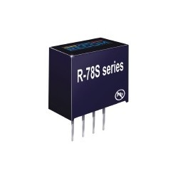 R-78S3.3-0.1, Recom DC/DC converters, 0,1A, SIL4 housing, R-78S series
