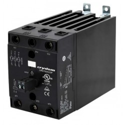 DR6760D25P, Sensata/Crydom solid state relays, 25 to 75A, 3x600V, thyristor output, 3-phase, DIN rail, DR6760 series