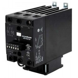DR6760D75P, Sensata/Crydom solid state relays, 25 to 75A, 3x600V, thyristor output, 3-phase, DIN rail, DR6760 series