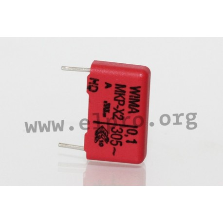 MKX21W31504D00KSSD, Wima MKP EMI/RFI suppression capacitors, class X2, MKP-X2 series