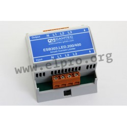 ESB303.LED.200/400, Camtec inrush current limiters