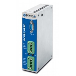 UPSIC-2403D, Bicker Elektronik uninterruptible power supplies UPS, 12 to 24V, with supercaps, UPSIC series