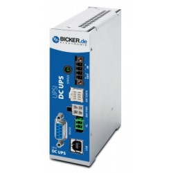 UPSI-2406D, Bicker Elektronik uninterruptible power supplies UPS, 12 to 24V, external energy storage, UPSI series