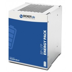 BP-LFP-1375D, Bicker Elektronik Li-ion battery packs, 9,9 to 25,6V, for UPSI series, BP-LFP series