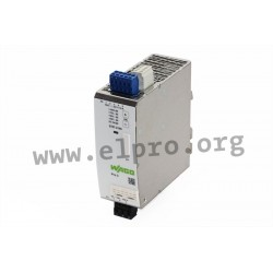 2787-2146, Wago DIN rail switching power supplies, 120 to 960W, IO link interface, parallel function, Pro2 series