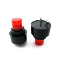 PL-35A29EPD-220SQ, Hitpoint piezo AC/DC buzzers, with LED, for PCB mounting, PF and PL series