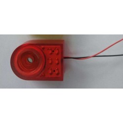 PS-733EWDRQ, Hitpoint piezo sirens, with LED, PS-733 series
