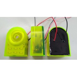 PS-733EWDYQ, Hitpoint piezo sirens, with LED, PS-733 series