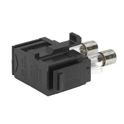 4301.1403, Schurter IEC insert connectors, with rocker switch and 2 fuse holders, DD11 series