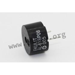 170051, Ekulit DC sounders, for PCB mounting, AL series