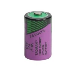 SL-750/S, Tadiran lithium thionyl chloride batteries, 3,6V, up to 130°C, SL-700 and SL-2700 series