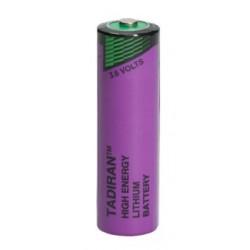 SL-760/S, Tadiran lithium thionyl chloride batteries, 3,6V, up to 130°C, SL-700 and SL-2700 series