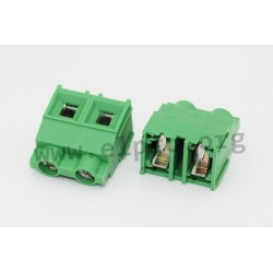 DG636-9.52-02P-14-00AH, Degson terminal blocks, pitch 9,52mm, 32A, 1000V, screw-cage clamp principle, DG636-9.52 series