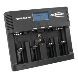 1001-0018, Ansmann battery chargers, for NiMH and NiCd batteries, Powerline series