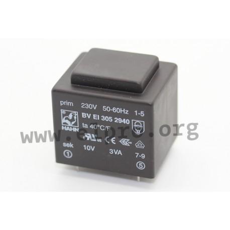 BVEI3052940, print transformers, 3VA