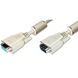 AK-310200-018-E, Ansmann VGA cables, grey, VGA series