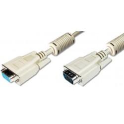 AK-310100-018-E, Ansmann VGA cables, grey, VGA series