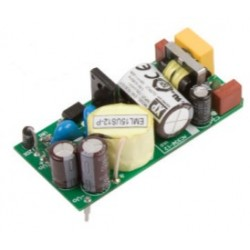EML15US05-P, XP Power switching power supplies, 15W, for medical technology, open frame (PCB), EML15 series