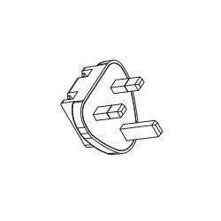 ACM PLUG UK, XP Power input plugs, for ACM06/12/18/24/36 series