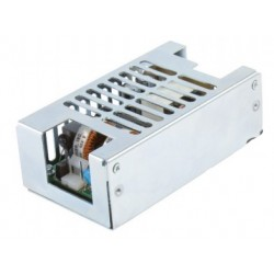 ECS100US12-C, XP Power switching power supplies, 100W forced air, for medical technology, open frame PCB, ECS100 series