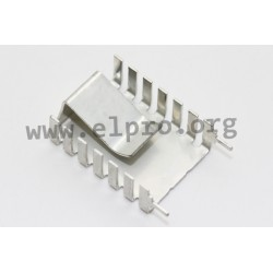 FK 245 MI 247 V, Fischer clip-on heatsinks, for TO220/TO218/TO247/TO248, FK241SA, FK243MI and FK245MI series