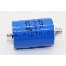 LFB10310040095, FTCAP electrolytic capacitors, radial, soldering lugs, clamping bolts, 85°C, LFB series