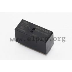AZ762-1AB-24DEF, Zettler PCB relays, 16A, 1 changeover or 1 normally open contact, AZ762 series