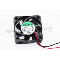 D04121350G-00, Sunon fans, 40x40x10mm, 12V DC, EE/EF/MF/HA series