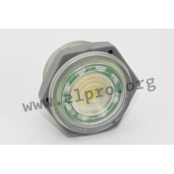 PK-27A35EPDGQ, Hitpoint piezo DC buzzers, with LED, for panel mounting, PF, PK and PL series