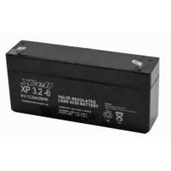 XCEXP3.26, XCELL lead-acid batteries, 6 volts, XP series