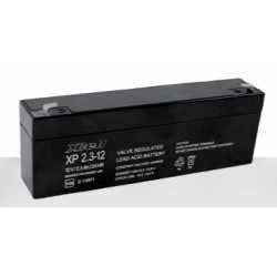 XP2.3-12, XCELL lead-acid batteries, 12 volts, XP series